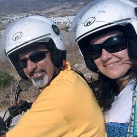 Walter Quintavalle e Daniela Romano