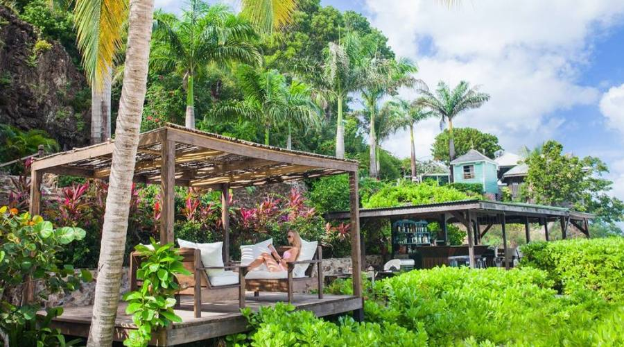 Relax al Cocos Hotel di Antigua