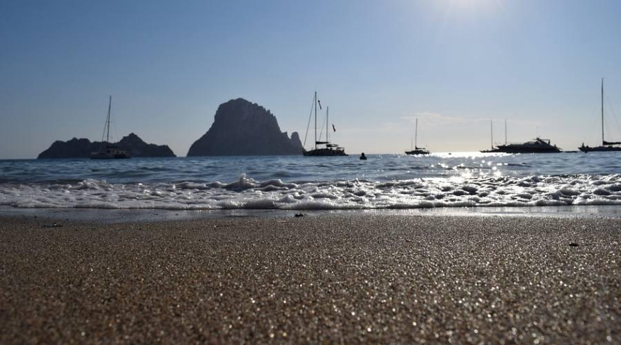 la spiaggia di Playa d'en Bossa