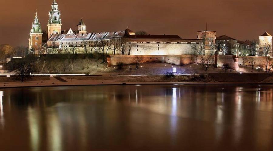 Panorama del Castello di Wawel
