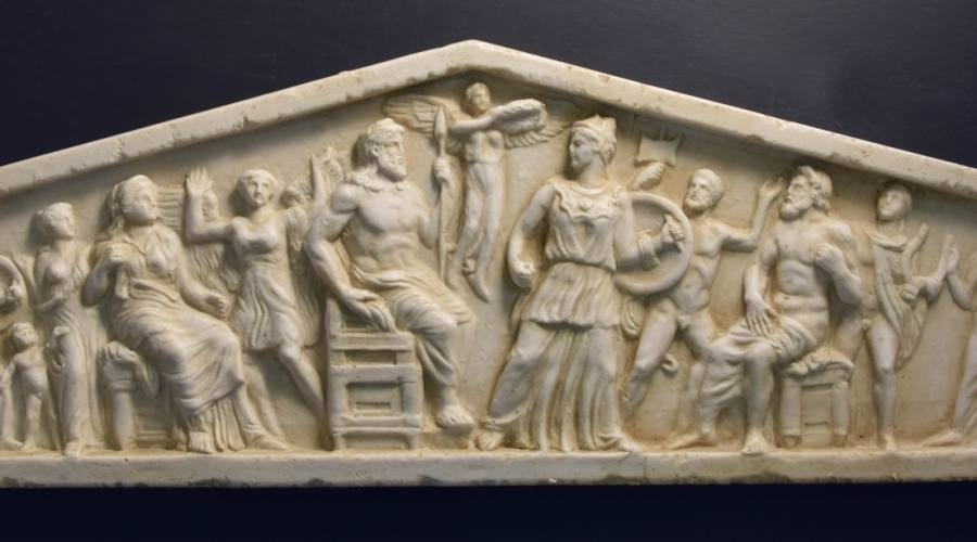 Particolare del Partenone