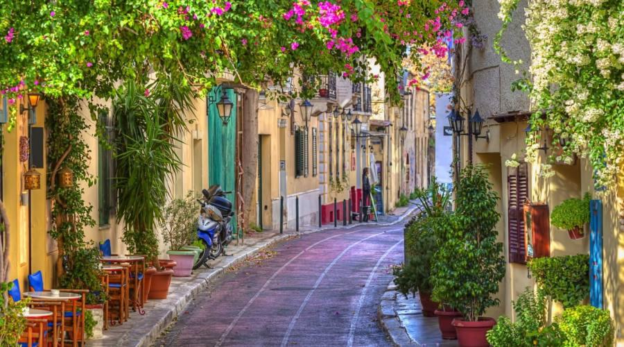 Passeggiando per Atene