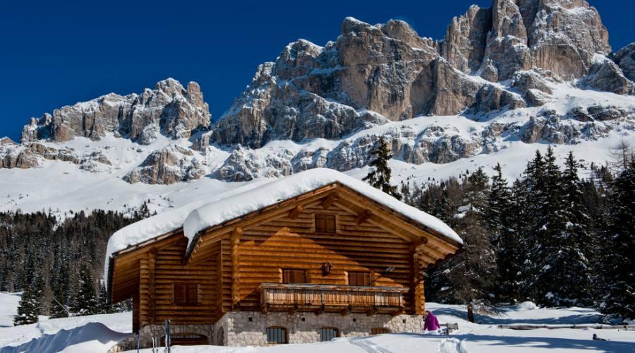 Chalet nelle Dolomiti