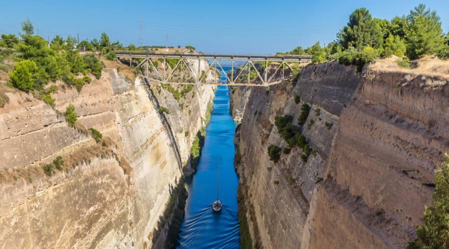Il canale di Corinto - Argolide