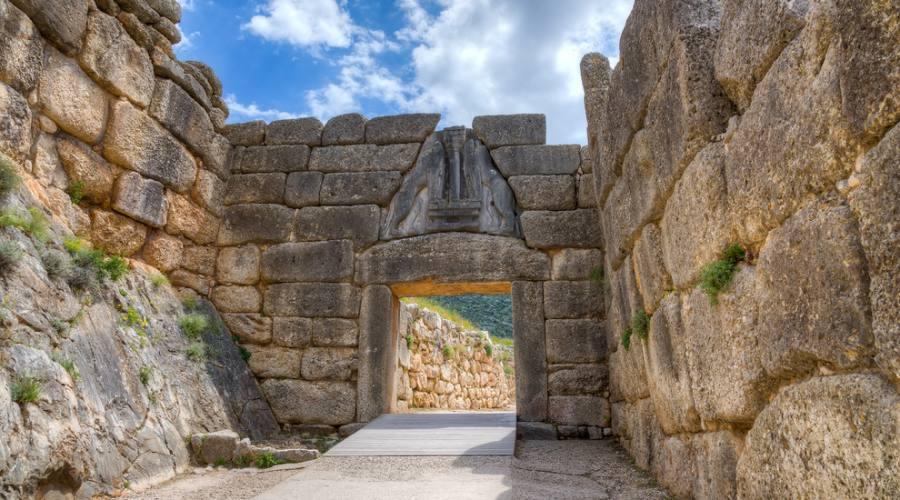 Micenecon la sua Porta dei Leoni - Argolide