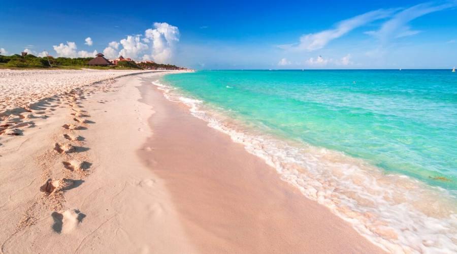 Playa Del Carmen: Spiaggia Playacar