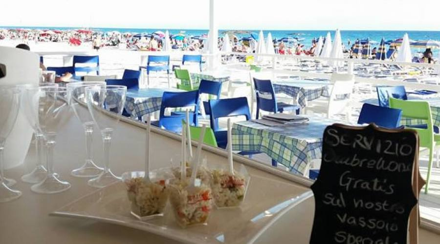 ristorante alla spiaggia