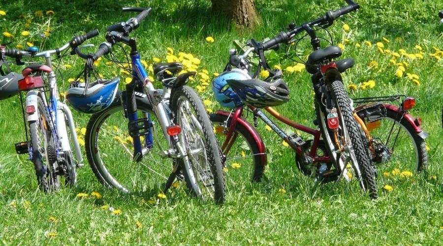 gruppo di bici