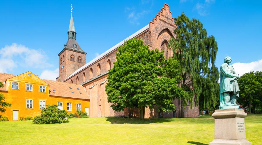 Odense la gotica cattedrale di S. Canuto