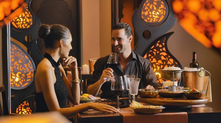 Il ristorante Mahiya