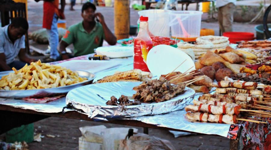 Street Food a Forodhani Garden- Stone Town
