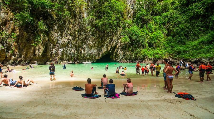 Emerald Cave Koh Mook