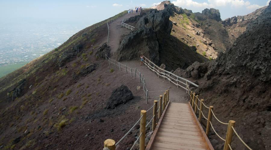 Napoli escursione al Vesuvio