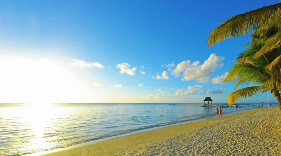 La spiaggia di Trou Aux Biches