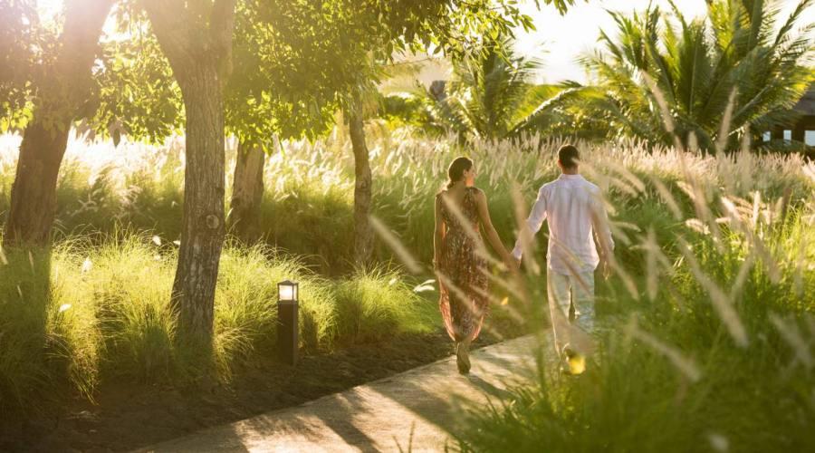 A passeggio nei giardini