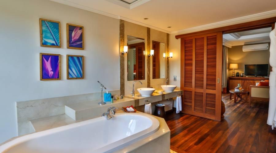 Il bagno della Garden Suite Pool Villa