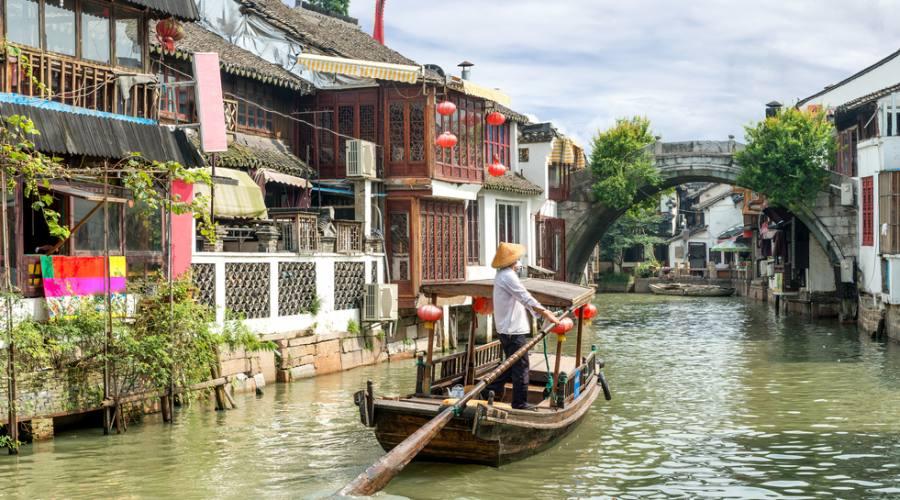 Shanghai Zujiaigo Villaggio Sull'Acqua