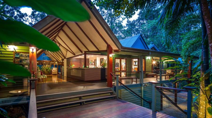 Silky Oaks Lodge.