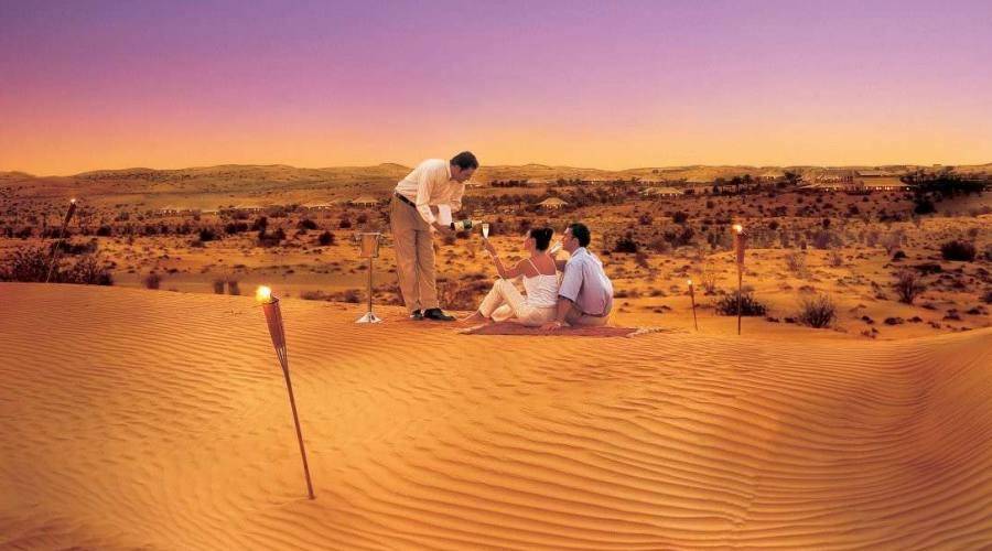 Lusso nel deserto