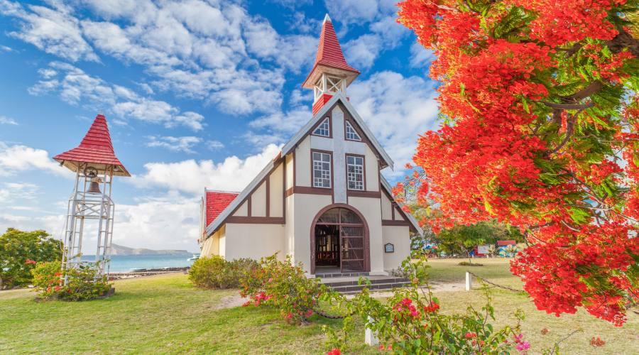 Mauritius: la chiesa di Cap Malheureux