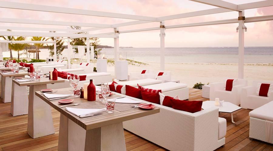 Il ristorante Beach Rouge