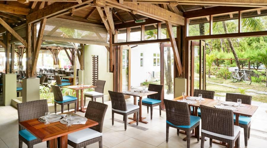 Il ristorante Les Alizes