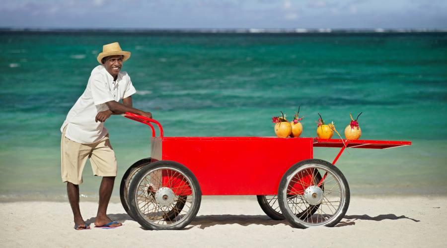 Simpatici servizi sulla spiaggia