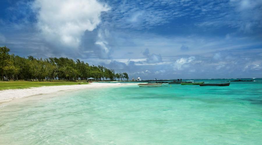 La spiaggia di Belle Mare