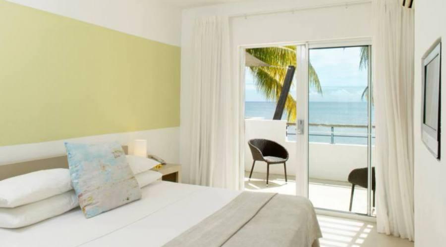 Una delle camere, Hotel Le Recif Mauritius