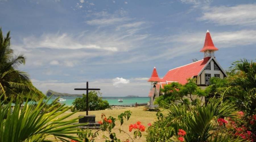 La chiesa di Cap Malheureu a Mauritius