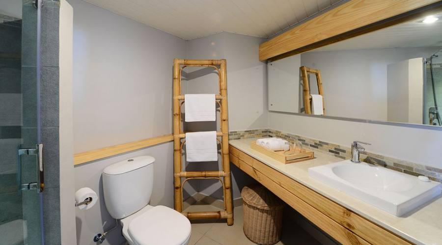 Il bagno della camera Comfort