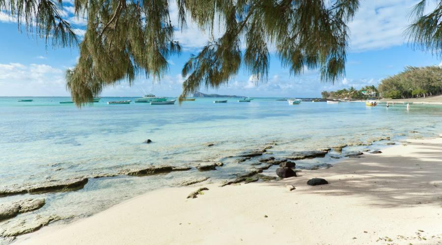 La spiaggia di Coin de Mire