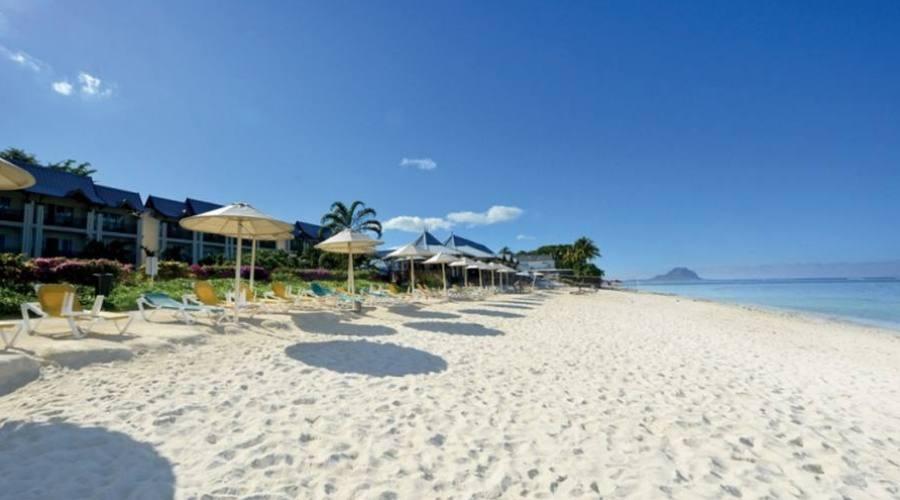 La spiaggia di fronte al Pearle Beach