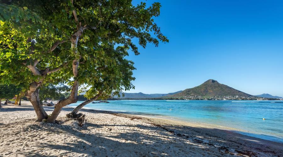 Una spiaggia a Flic En Flac