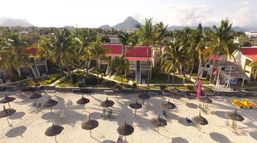 La spiaggia dell'Hotel Villa Caroline