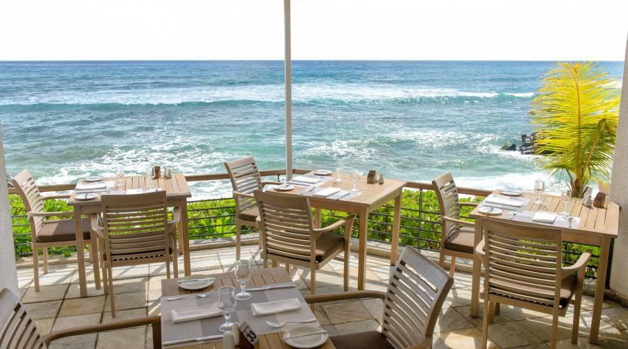 Il ristorante Pointe aux Piments