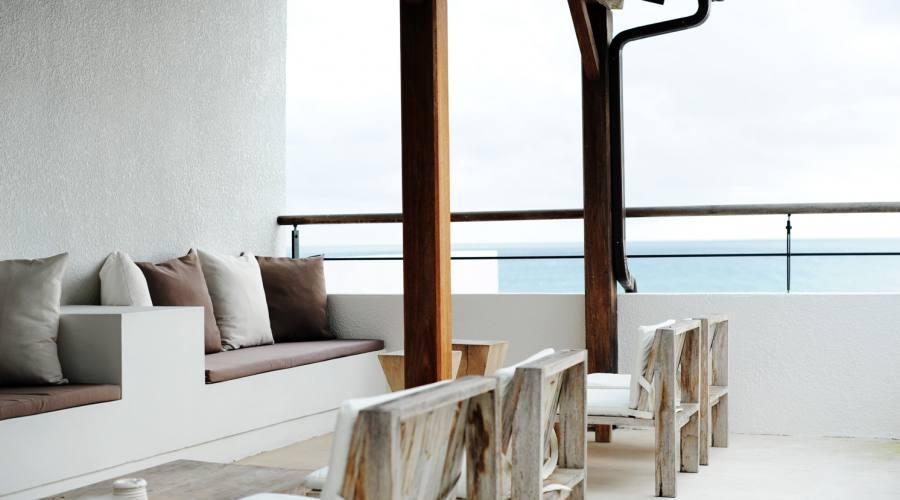 La lounge vista mare