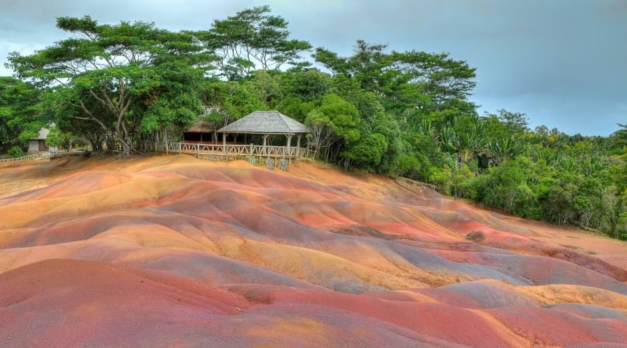La terre colorate di Chamarel