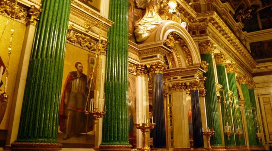 San Pietroburgo Sant'Isacco interno