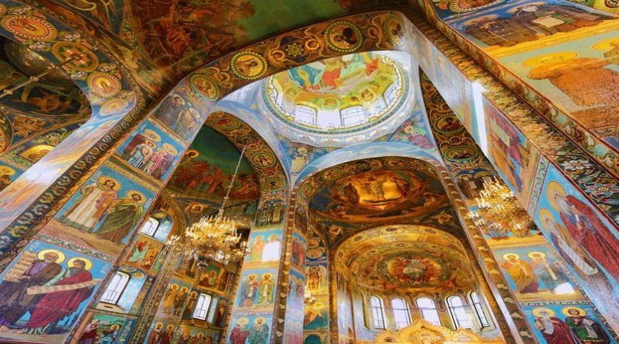 San Pietroburgo Chiesa del Salvatore sul Sangue Versato interno