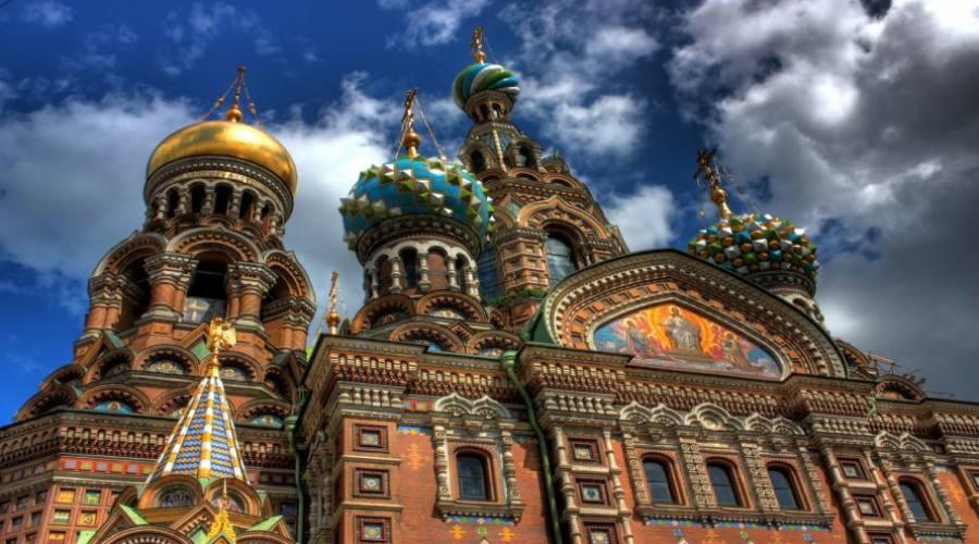 San Pietroburgo Chiesa del Salvatore sul Sangue Versato