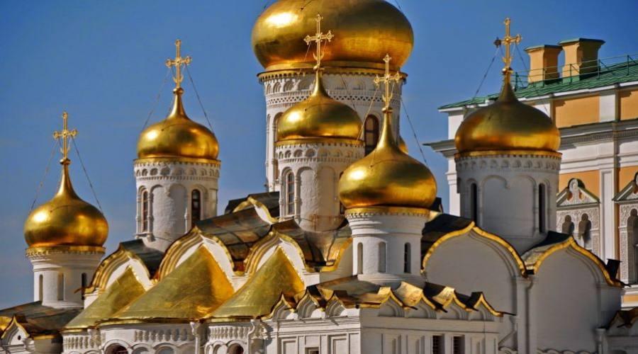 Mosca cattedrali nel Cremlino