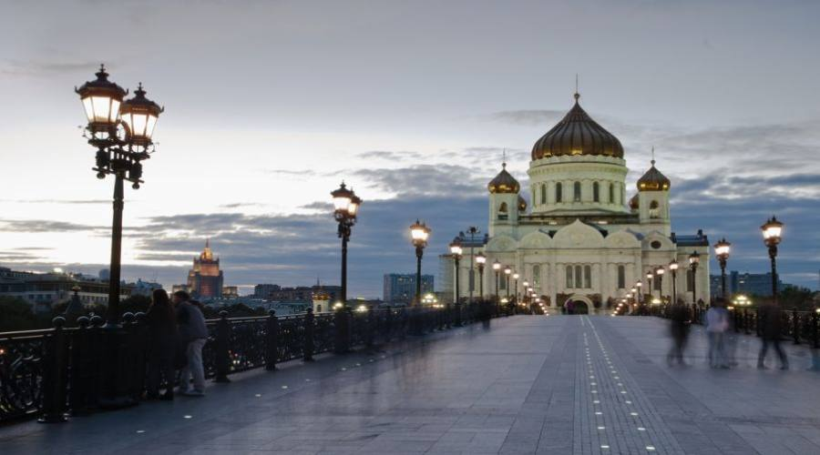 Mosca Cattedrale di Cristo Salvatore