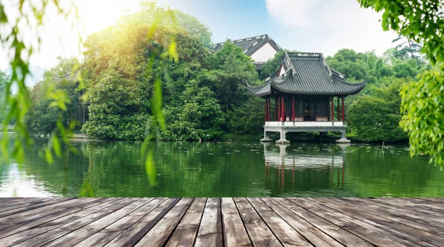 Cina Hangzhou Lago Ovest