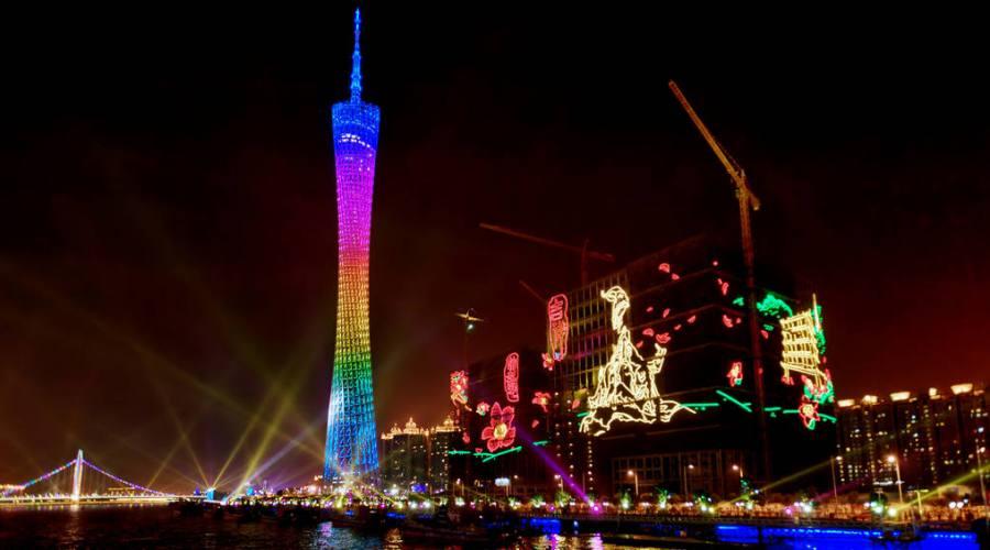 Shanghai  Pudong Notturmo