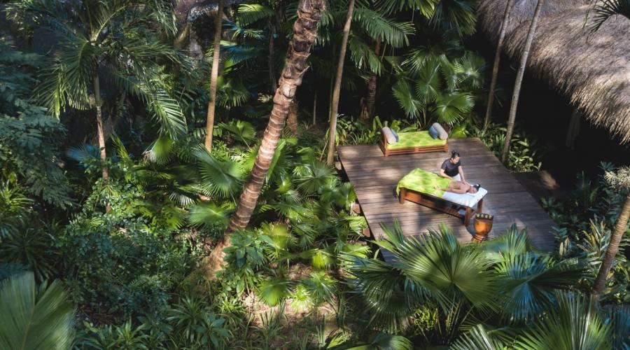 Spa outdoor massaggi nella natura