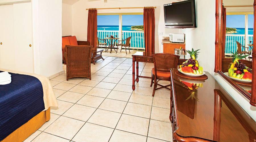 The Veranda Resort & Spa - una delle camere vista mare