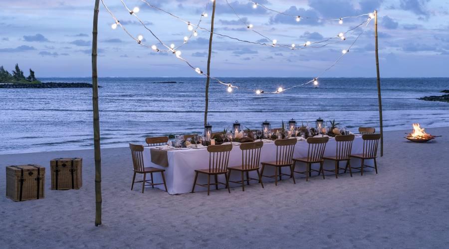 Cena privata sulla spiaggia