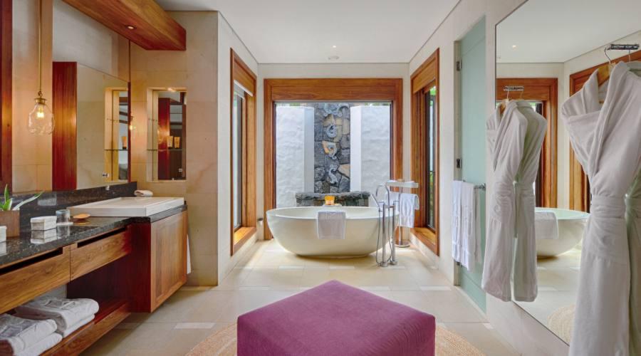 Il bagno della Beach Villa