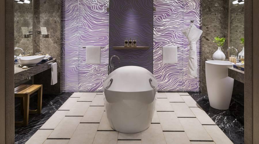 Il bagno della Frangipani Junior Suite